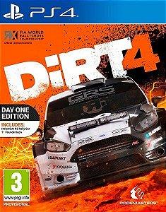Jogo PS4 Dirt 4 - Codemasters