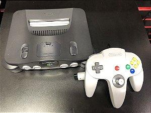 Console Nintendo 64 Preto + Controle cinza - Nintendo