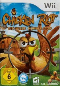 Jogo Nintendo Wii Chicken Riot - Die Wilde Huhnerjagd (Europeu) - Nintendo