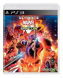 Jogo PS3 Ultimate Marvel Vs. Capcom 3 - Capcom