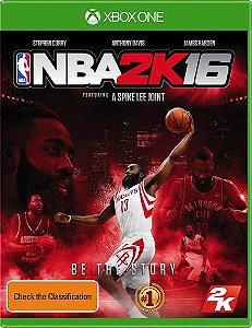 Jogo Xbox One NBA 2K16 - 2K
