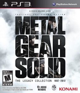 Jogo PS3 Metal Gear Solid The Legacy Collection - Konami