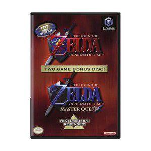 Jogo Nintendo Game Cube The Legend of Zelda Ocarina Of Time Special Disc - Nintendo