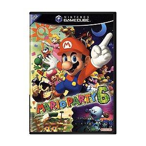 Usado Jogo Nintendo Game Cube Mario Party 6 - Nintendo