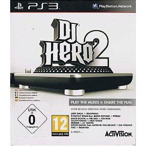 Usado Jogo PS3 Dj Hero 2 - Activision