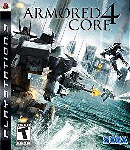 Jogo PS3 Armored Core 4 - Sega