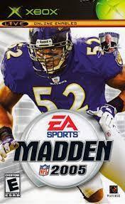 Jogo Xbox Clássico Madden NFL 2005 - EA