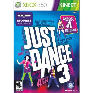 Jogo Xbox 360 Kinect Just Dance 3 - Ubisoft