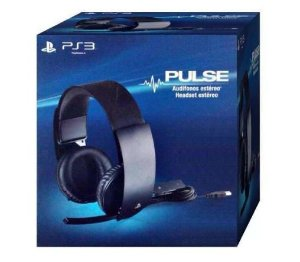 Headset Pulse Sony 7.1 Com Fio para Playstation 3 e 4 PS4 PS3 PC Mac - Sony