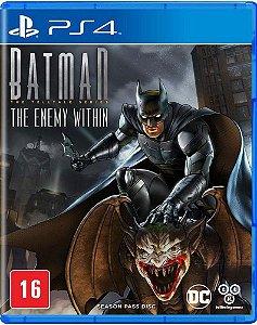 Jogo PS4 Batman The Enemy Within - Telltale Games