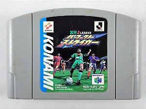 Jogo Nintendo 64 Jikkyou J-League Perfect Striker - Nintendo