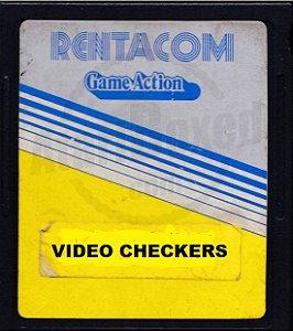 Jogo Atari 2600 Video Checkers - Atari