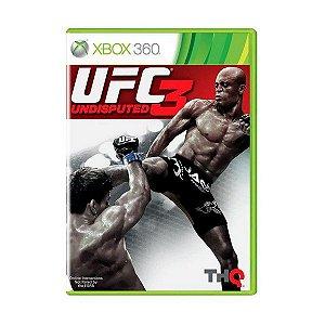 Jogo Xbox 360 UFC 3 Undisputed 3 - EA Sports