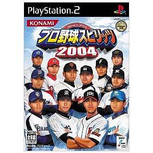 Jogo PS2 Pro Yakyuu Spirits 2004 SLPM 65543   Japonês - Konami