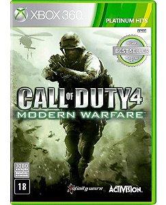 Jogo Xbox 360 Call of Duty 4: Modern Warfare - Activision