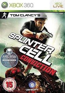 Jogo Xbox 360 Tom Clancy's Splinter Cell: Conviction - Ubisoft