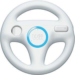 Usado Volante Nintendo Wii Wheel Branco - Nintendo