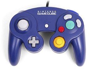 Controle Game Cube Indigo - Nintendo