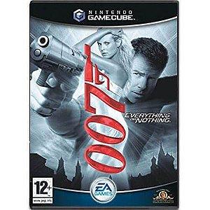 Usado Jogo Nintendo Game Cube 007 Everything Or Nothing - Electronic Arts