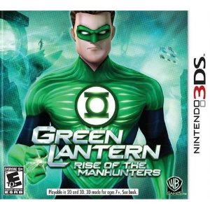 Jogo Nintendo 3DS Green Lantern Rise of the Manhunters - Warner Bros Games