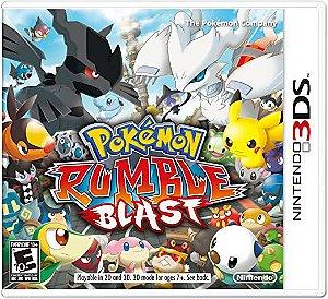 Usado Jogo Nintendo 3DS Pokemon Rumble Blast - Nintendo