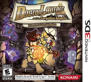 Usado Jogo Nintendo 3DS Doctor Lautrec And The Forgotten Knights - Konami