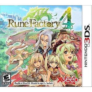 Usado Jogo Nintendo 3ds Rune Factory 4 - XSeed Games