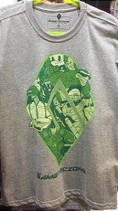 Camiseta Gameteczone Xbox Cinza GG