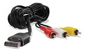 Cabo AV RCA Audio e Video para Sega Dreamcast