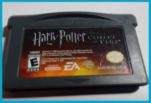 Usado Jogo Game Boy Advance Harry Potter And The Goblet Of Fire | Somente o Jogo - EA