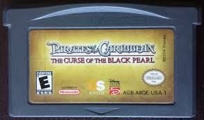 Usado Jogo Game Boy Advance Pirates of the Caribbean: The Curse of the Black Pearl s/ Caixa