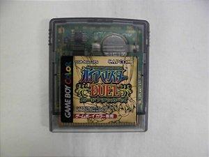 Usado Jogo Game Boy Color Gaia Master Duel Card Attacks - Capcom