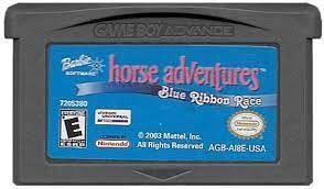Usado Jogo Nintendo Game Boy Advance Barbie Horse Adventures The Big Race | Somente o Jogo - Nintendo