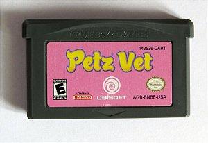 Usado Jogo Nintendo Game Boy Advance Petz Vet | Somente o Jogo -Ubisoft