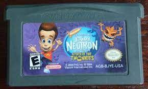 Usado Jogo Nintendo Game Boy Advance The Adventures of Jimmy Neutron Boy Genius Attack Of The Twonkies | Somente o Jogo