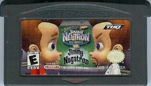Usado Jogo Nintendo Game Boy Advance The Adventures of Jimmy Neutron Boy Genius Vs. Jimmy Negatron | Somente o Jogo - THQ