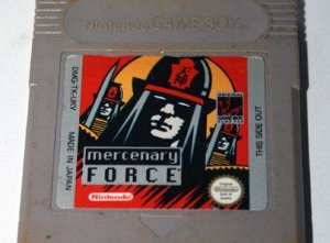 Usado Jogo Nintendo Game Boy Mercenary Force - Nintendo