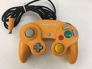 Usado Controle Nintendo Gamecube Laranja- Nintendo