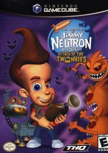 Jogo Nintendo Game Cube The Adventures of Jimmy Neutron Boy Genius Attack of the Twonkies - THQ
