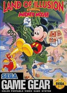Jogo Game Gear Land of Illusion Starring Mickey Mouse - Sega