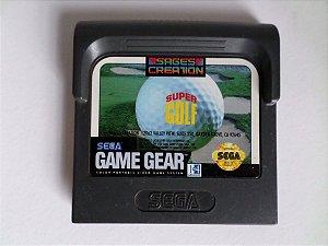 Usado Jogo Game Gear Super Golf - Sega