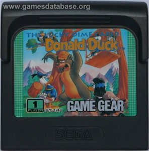 Usado Jogo Game Gear The Lucky Dime Caper Donald Duck - Sega