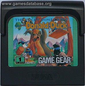 Jogo Game Gear The Lucky Dime Caper Donald Duck - Sega