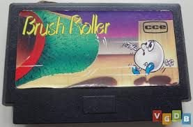 Usado Jogo NES Nintendinho Famicom Brush Roller | Somente o Jogo - CCE