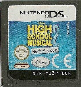 Usado Jogo Nintendo DS High School Musical 2 Work This Out | Somente o Jogo - Nintendo