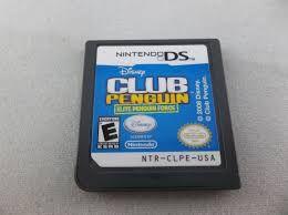 Usado Jogo Nintendo DS Disney Club Penguin Elite Penguin Force | Somente o Jogo- Disney
