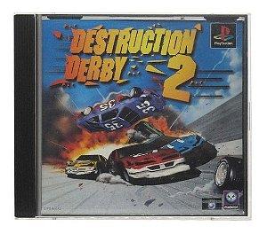 Usado Jogo PS1 Destruction Derby 2 SIPS-60012 | Japonês - Sony