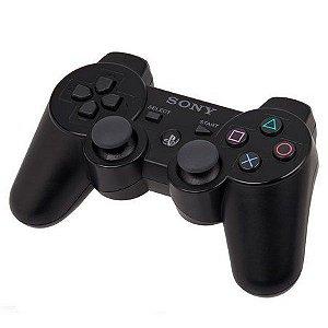 Usado Controle PS3 Original Dualshock 3 Playstation 3 Preto - Sony