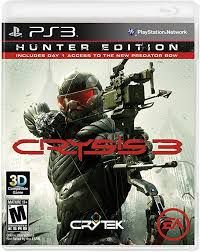 Usado Jogo PS3 Crysis 3 Limited Edition - Electronic Arts
