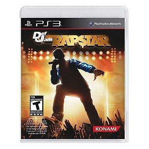 Usado Jogo PS3 Def Jam Rapstar - Konami